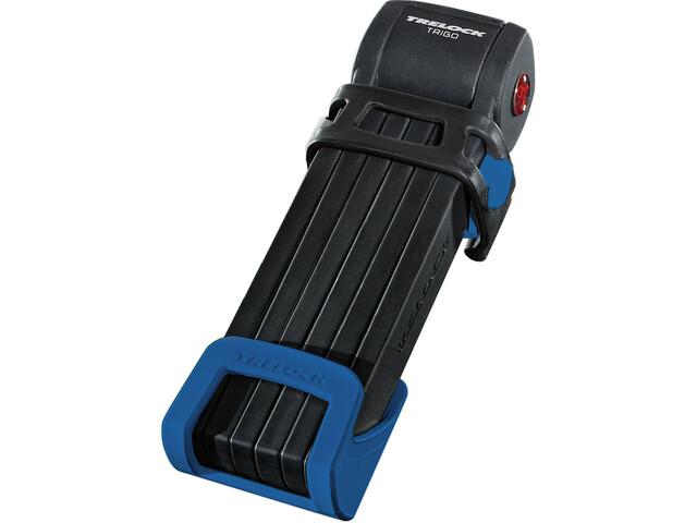 Trelock FS 300 Trigo Taittolukko sis. pidikkeen, blue